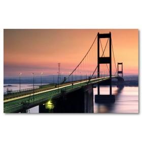 Αφίσα (αρχιτεκτονική, γέφυρα, bristol, Αγγλία, τοπίο)